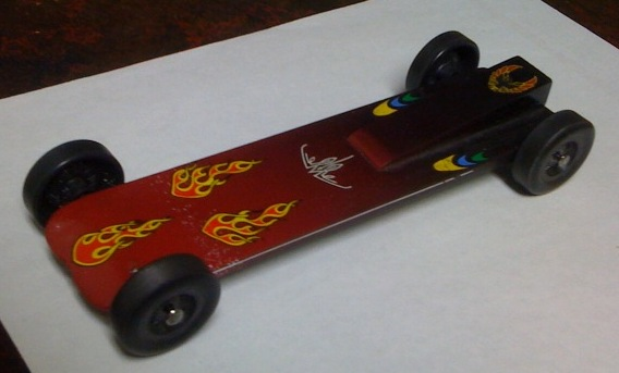 Fast Pinewood Derby Car